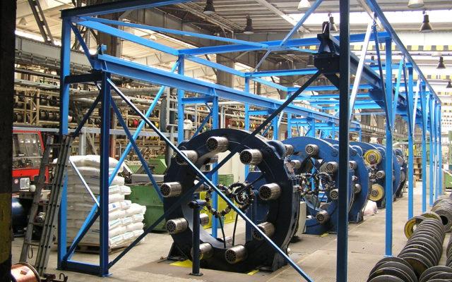 Ocelové konstrukce, jeřáby